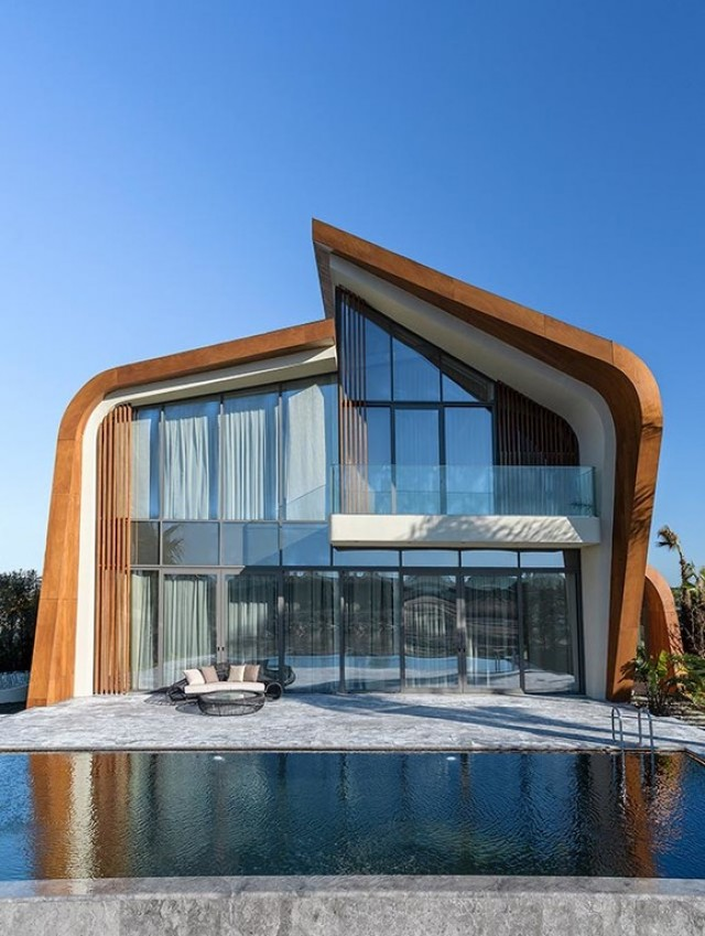 This villa project is the one among in Antalya