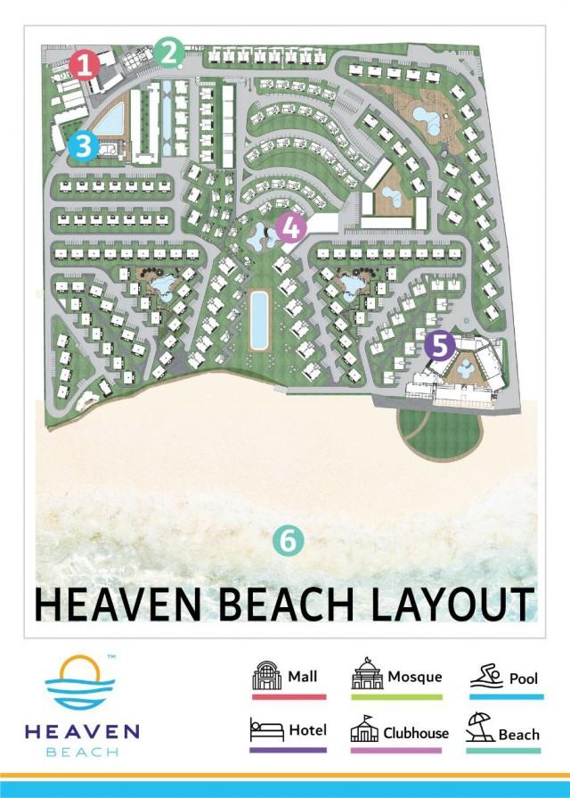 امتلك شاليهك   Heaven Beach.