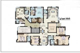 شقة تمليك في جابر الأحمد سكن عامودي