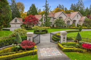 this private gated estate exudes luxury- King County