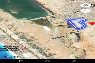 ارض مسجله  ٥١٠ الف متر مربع